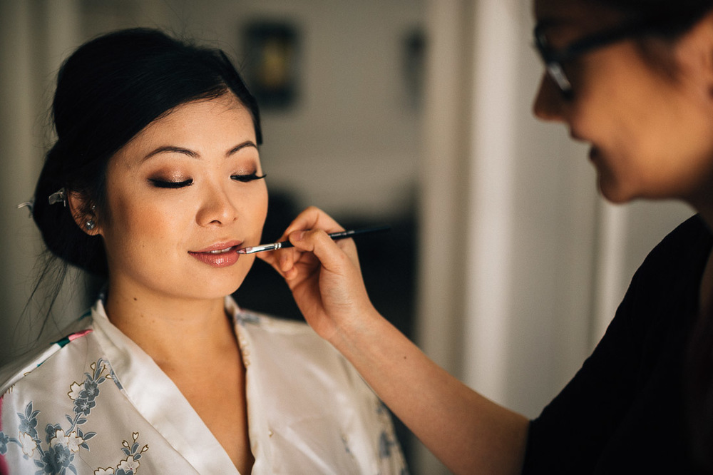 asian bride vancouver wedding photography makeup getting ready