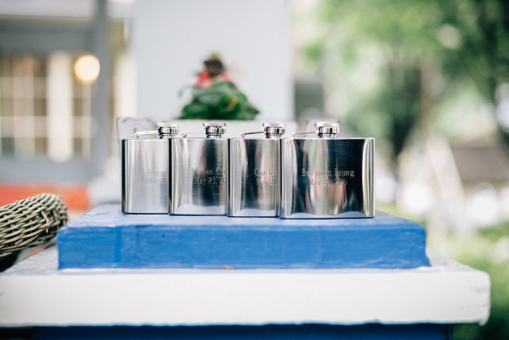 groomsmen flask gift vancouver wedding photography