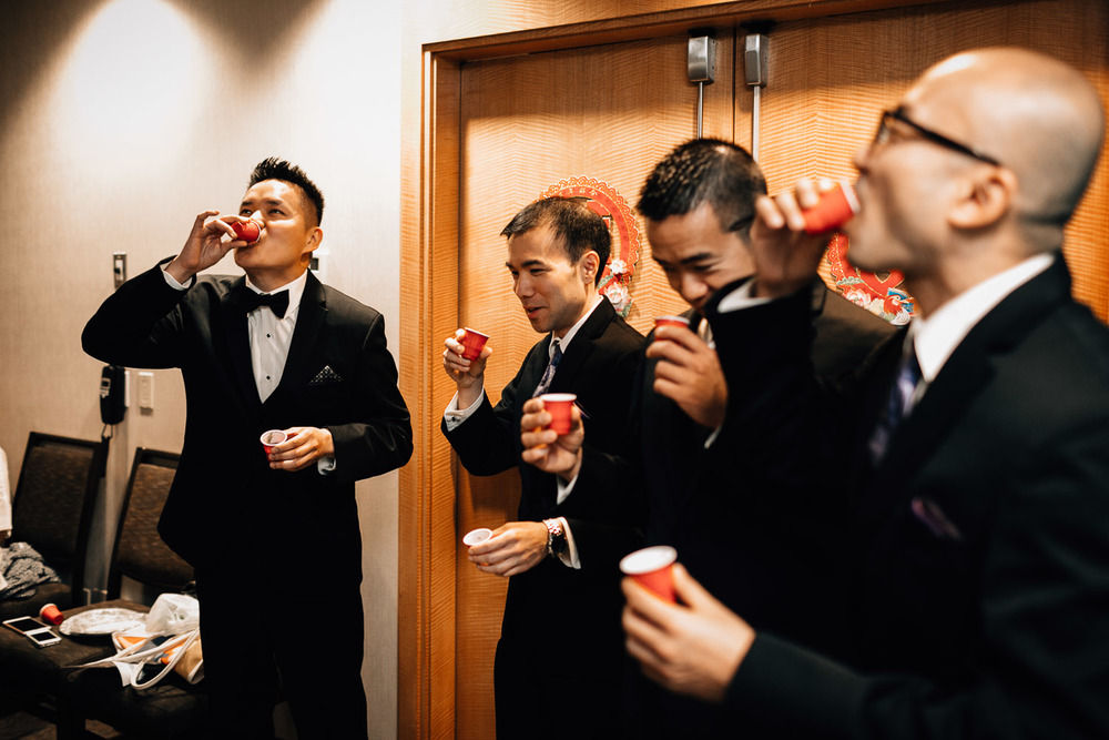 chinese door games westin grand hotel vancouver wedding photographer