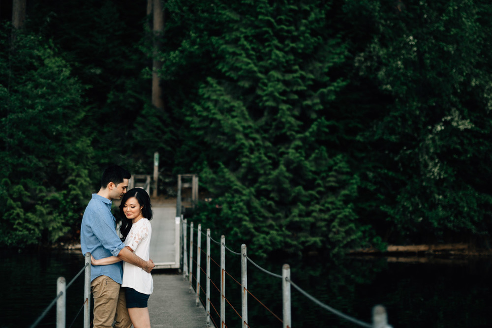 sasamat lake engagement session port moody photography