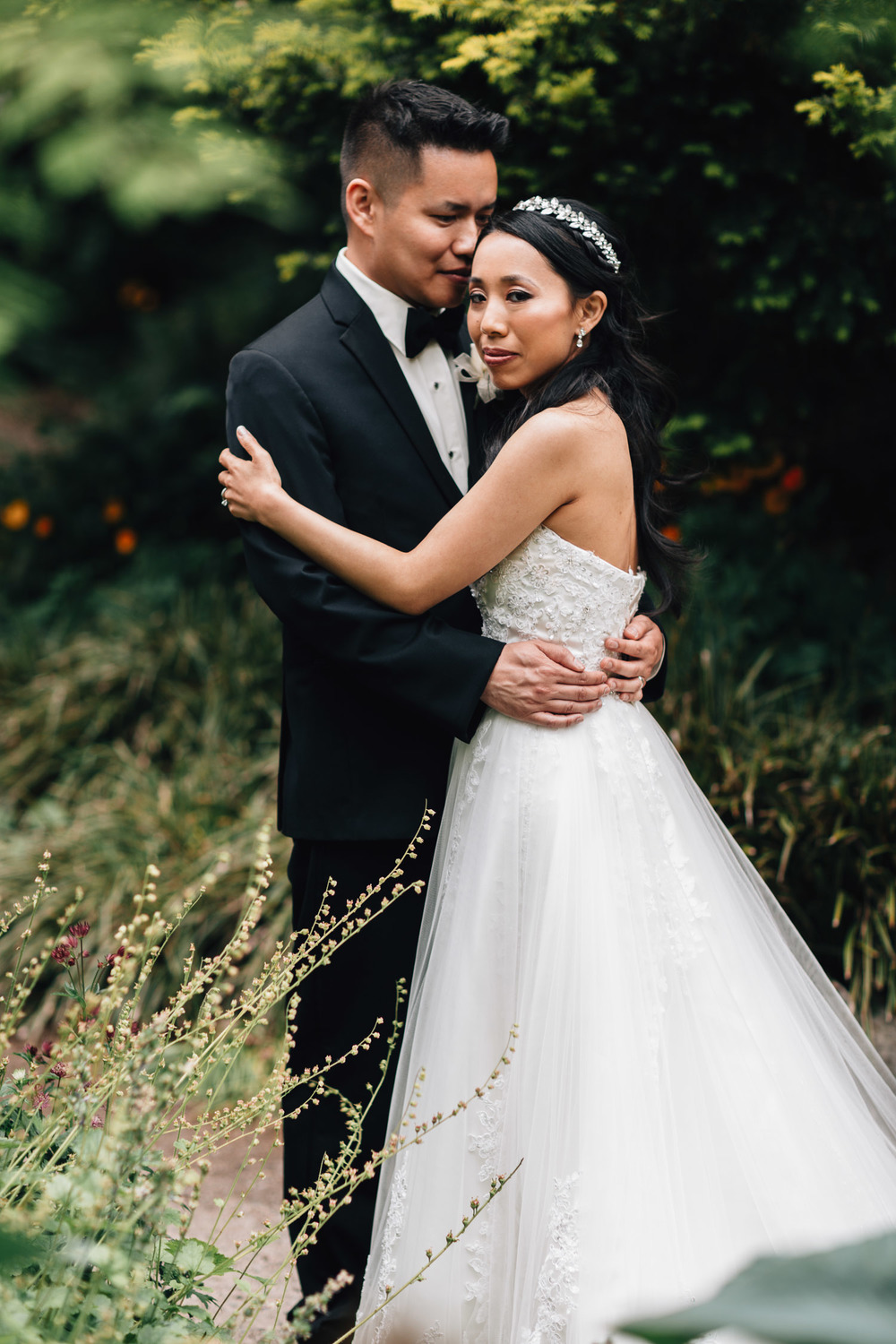 vancouver wedding photography portrait
