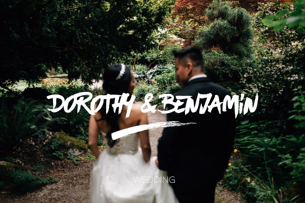 benjamin leung & dorothy yu wedding vancouver stanley park photographer