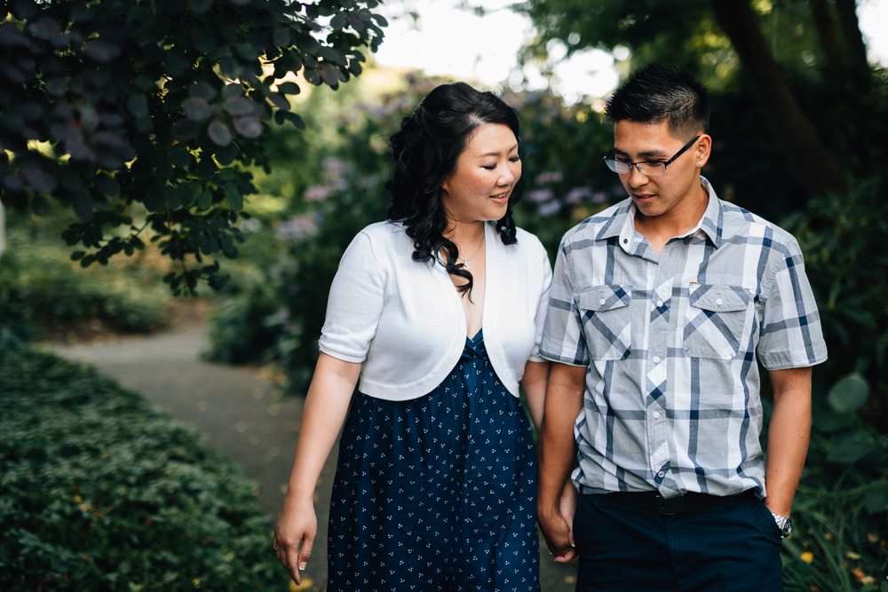 museum of vancouver engagement photography karla & vinh