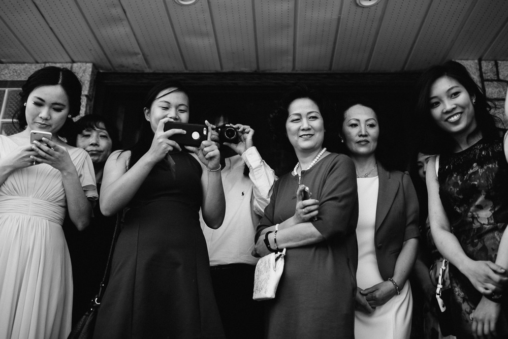 chinese door games black and white vancouver wedding photographer