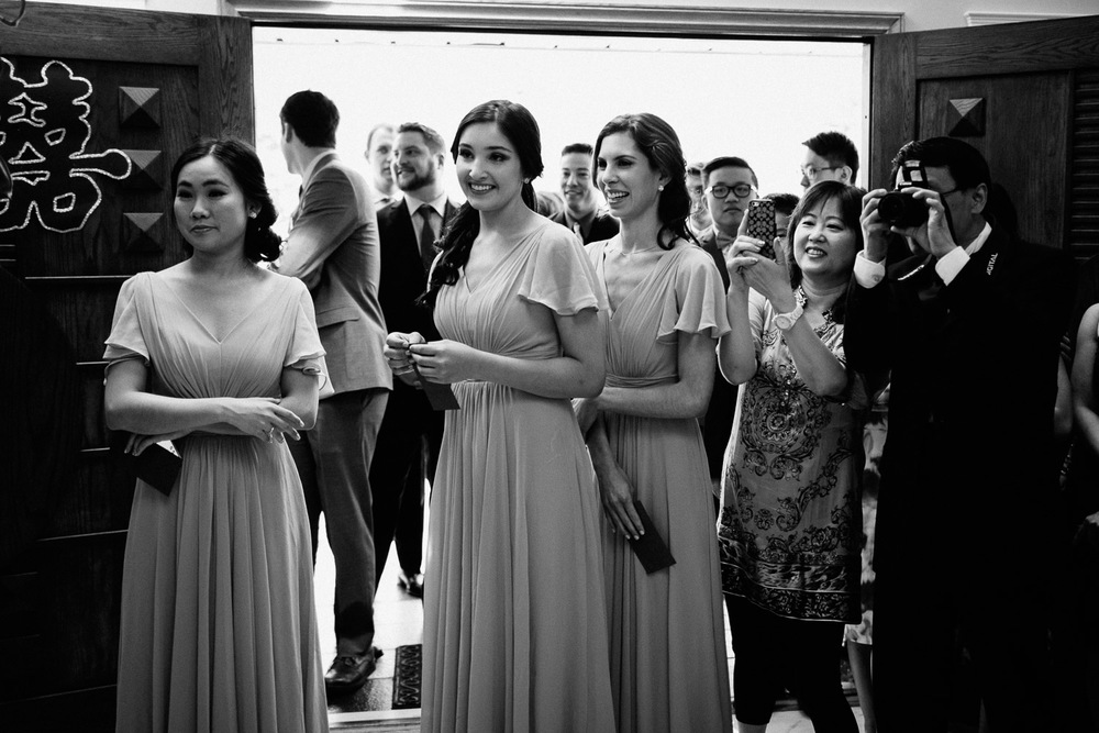 chinese vancouver wedding black and white photography