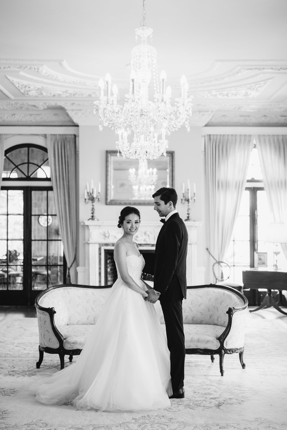 hycroft manor vancouver wedding photography portrait