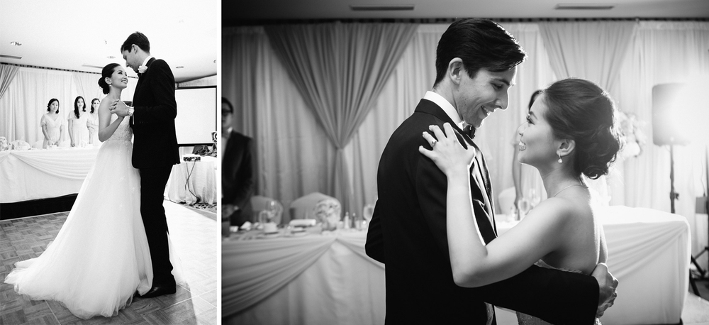 four seasons hotel vancouver wedding first dance photography