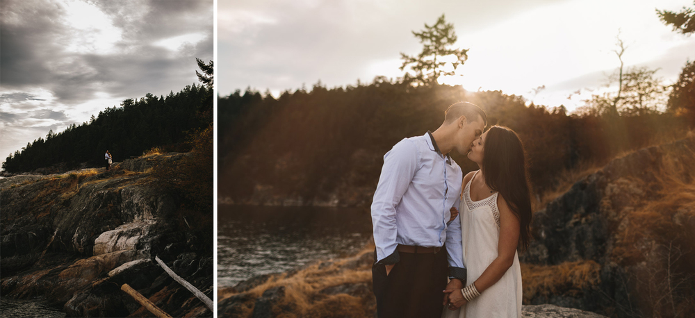 caulfield park engagement photography west vancouver