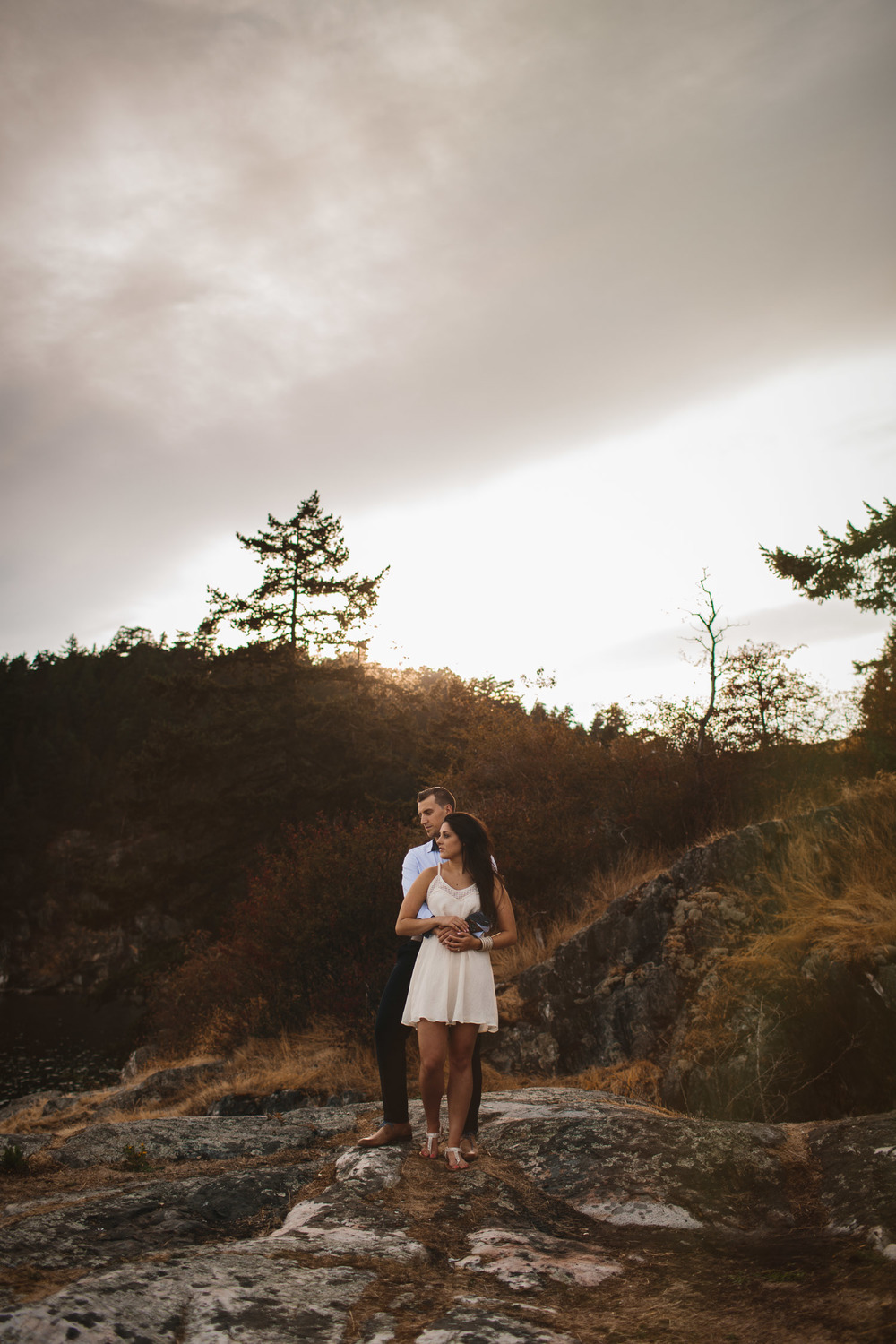 west vancouver caulfield park engagement photography