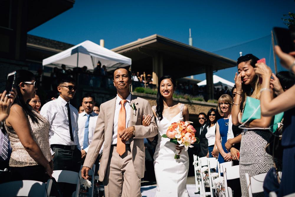 richmond wedding photographer ceremony quilchena