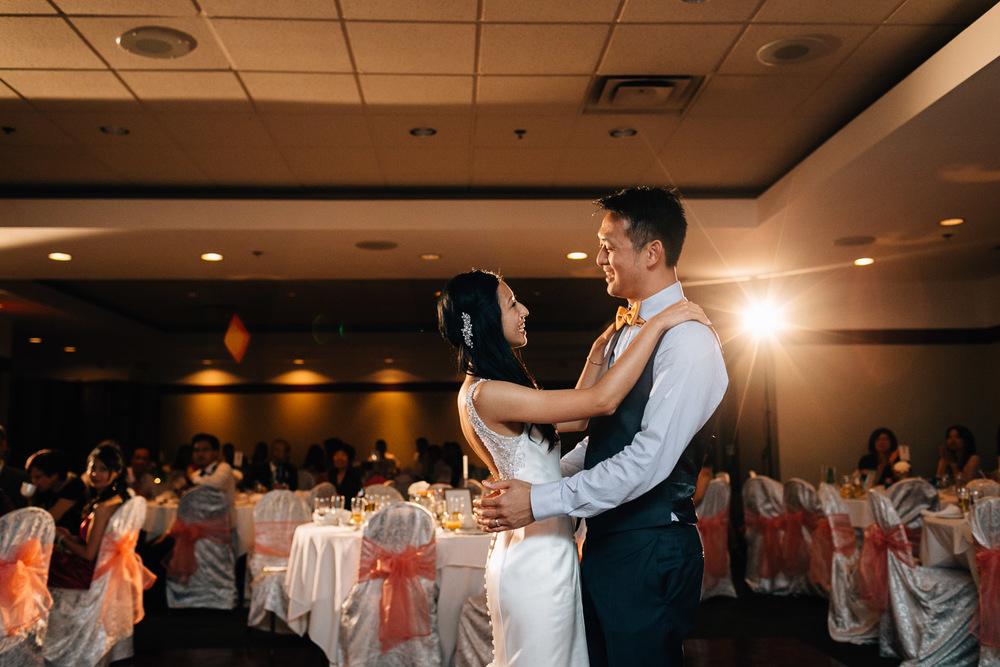 quilchena richmond wedding photographer first dance