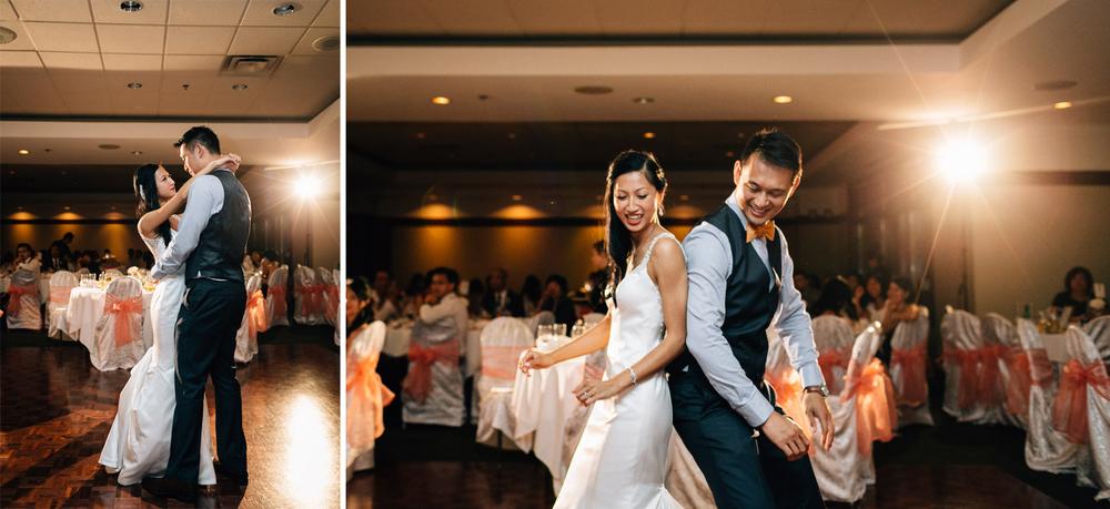 quilchena golf course wedding first dance