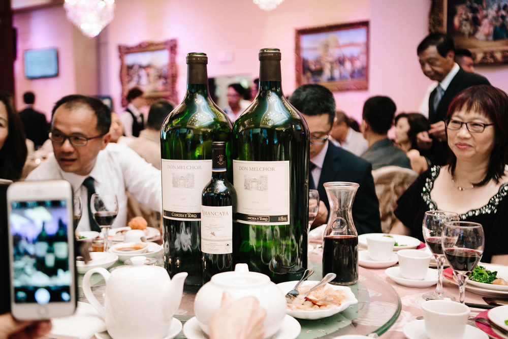 shiang garden restaurant richmond wedding photographer reception