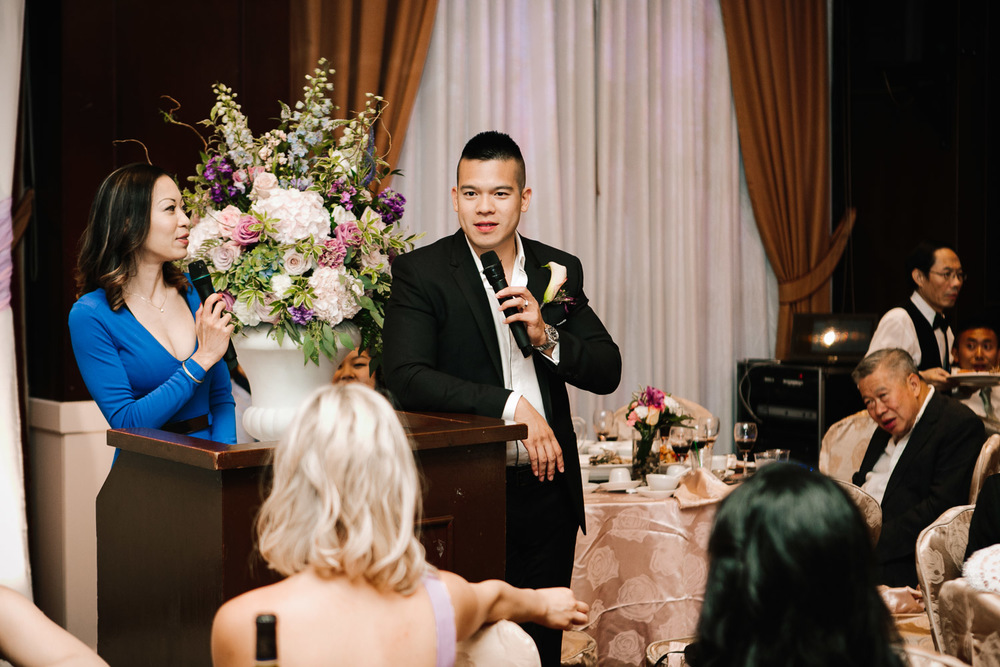 wedding mc at shiang garden richmond reception