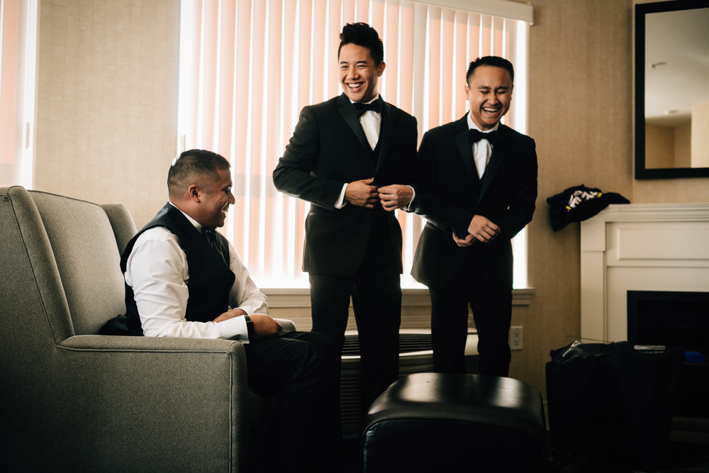 surrey wedding photographer groomsmen