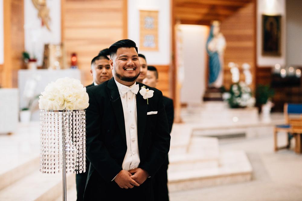 st. matthew's parish surrey wedding photography ceremony
