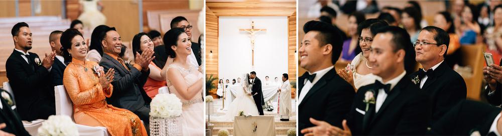 surrey st. matthew's parish church wedding ceremony