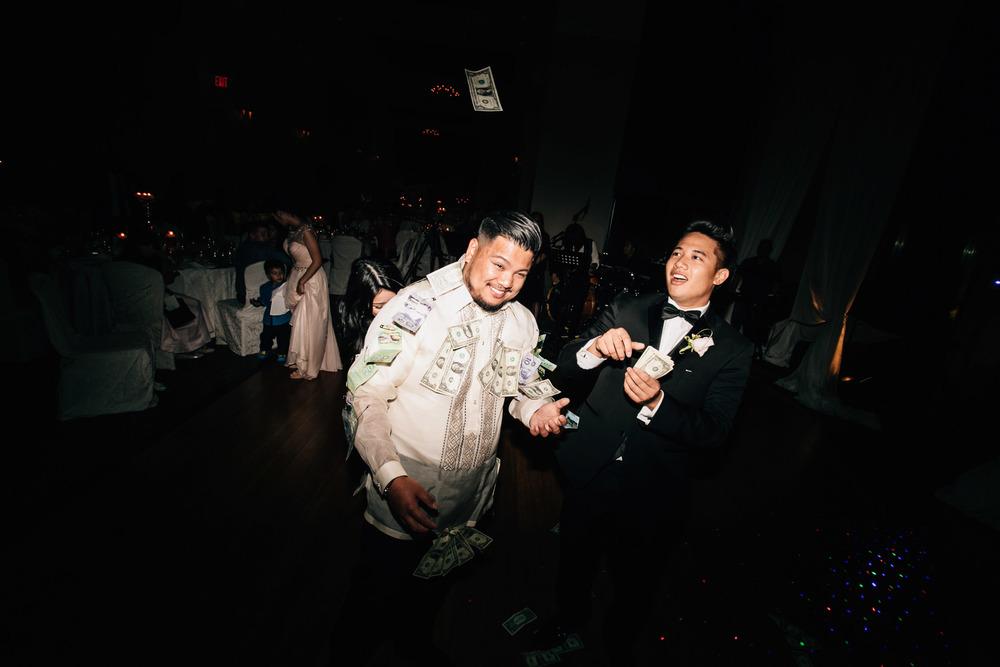 swaneset reception wedding vietnamese filipino money dance