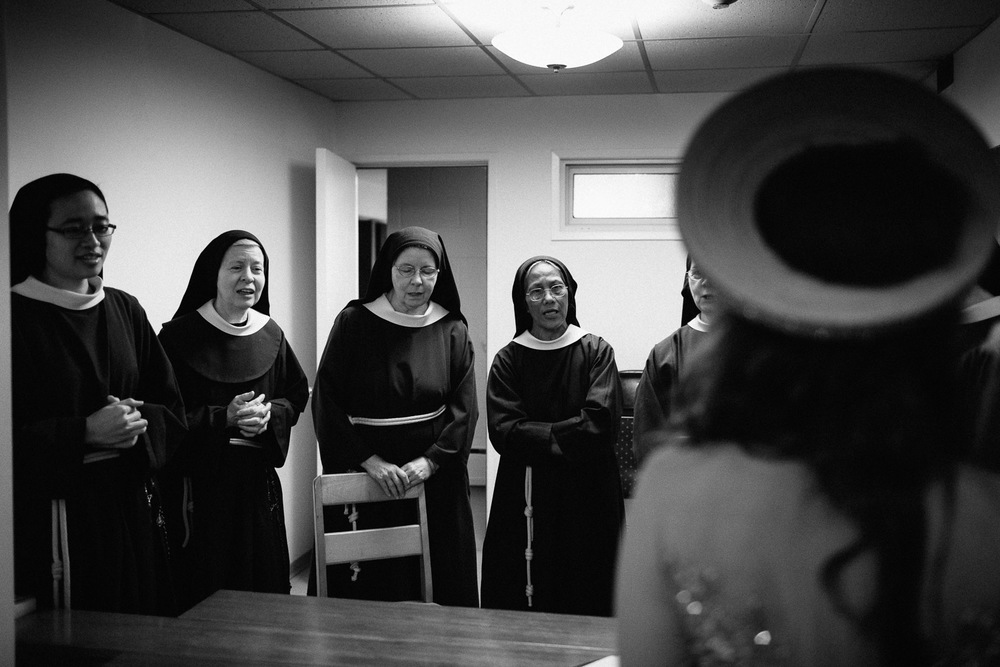 poor clares nunnery mission wedding photographer vietnamese asian bride