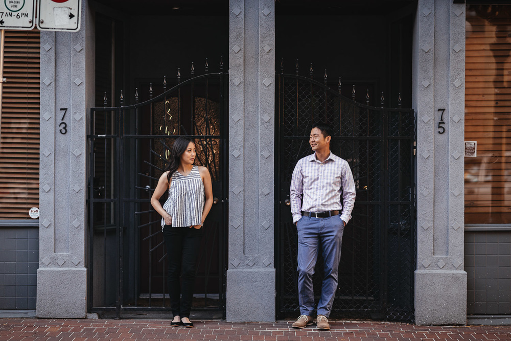 vancouver engagement photographer gastown vancouver bc