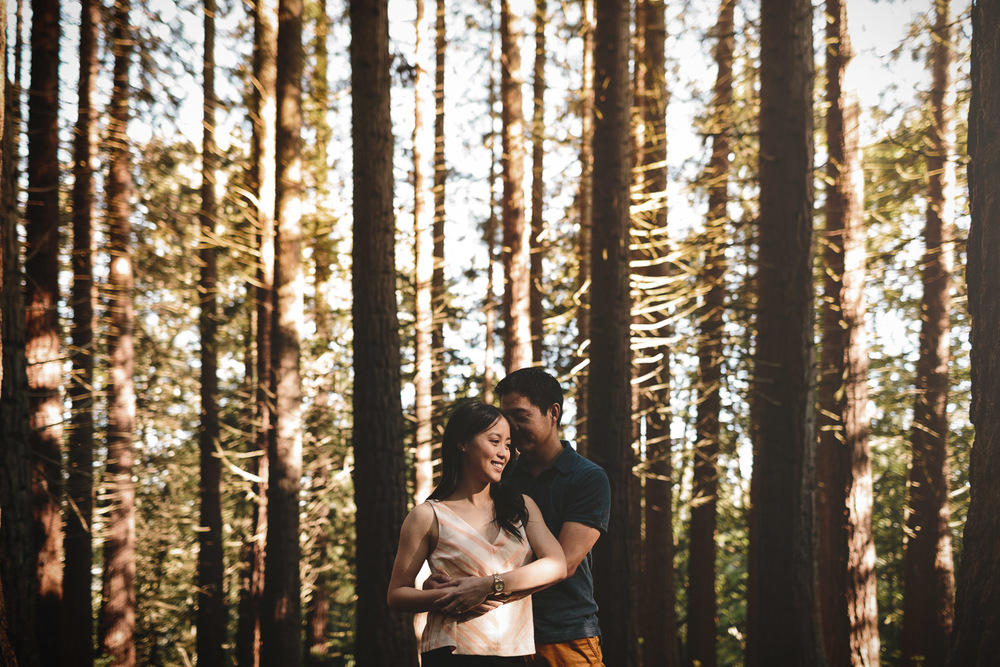 engagement photography in redwood park surrey BC