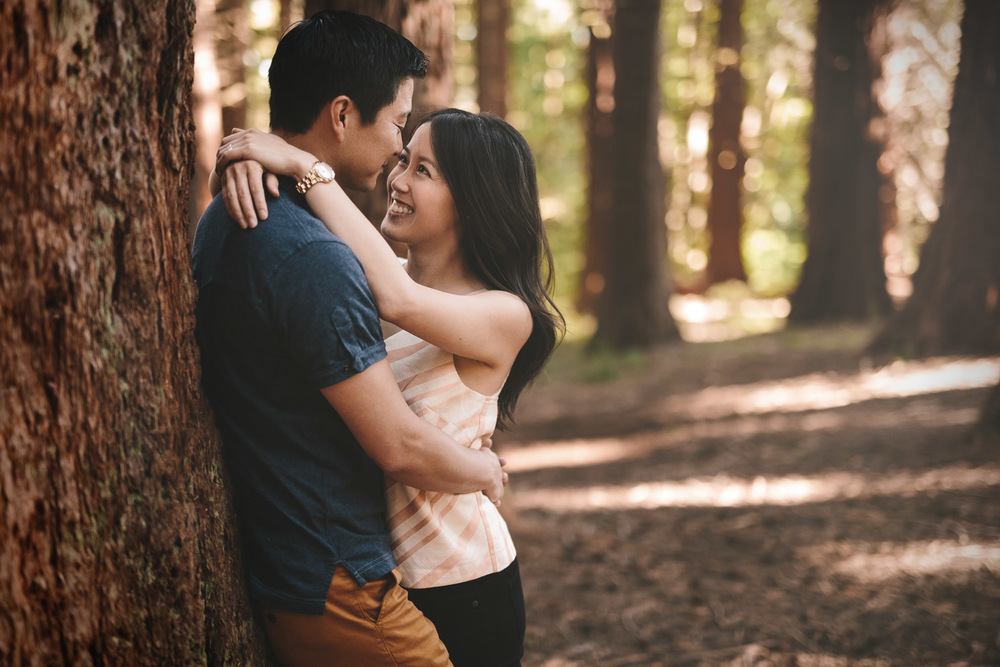 redwood park engagement phtoography