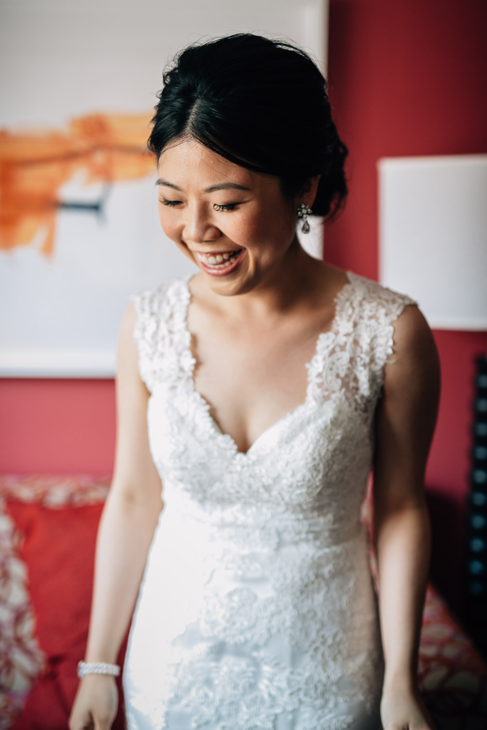 bride candid vsco opus hotel yaletown vancouver bc wedding photographer