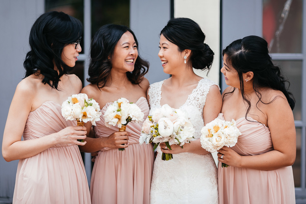 bridesmaids yaletown wedding vancouver bc