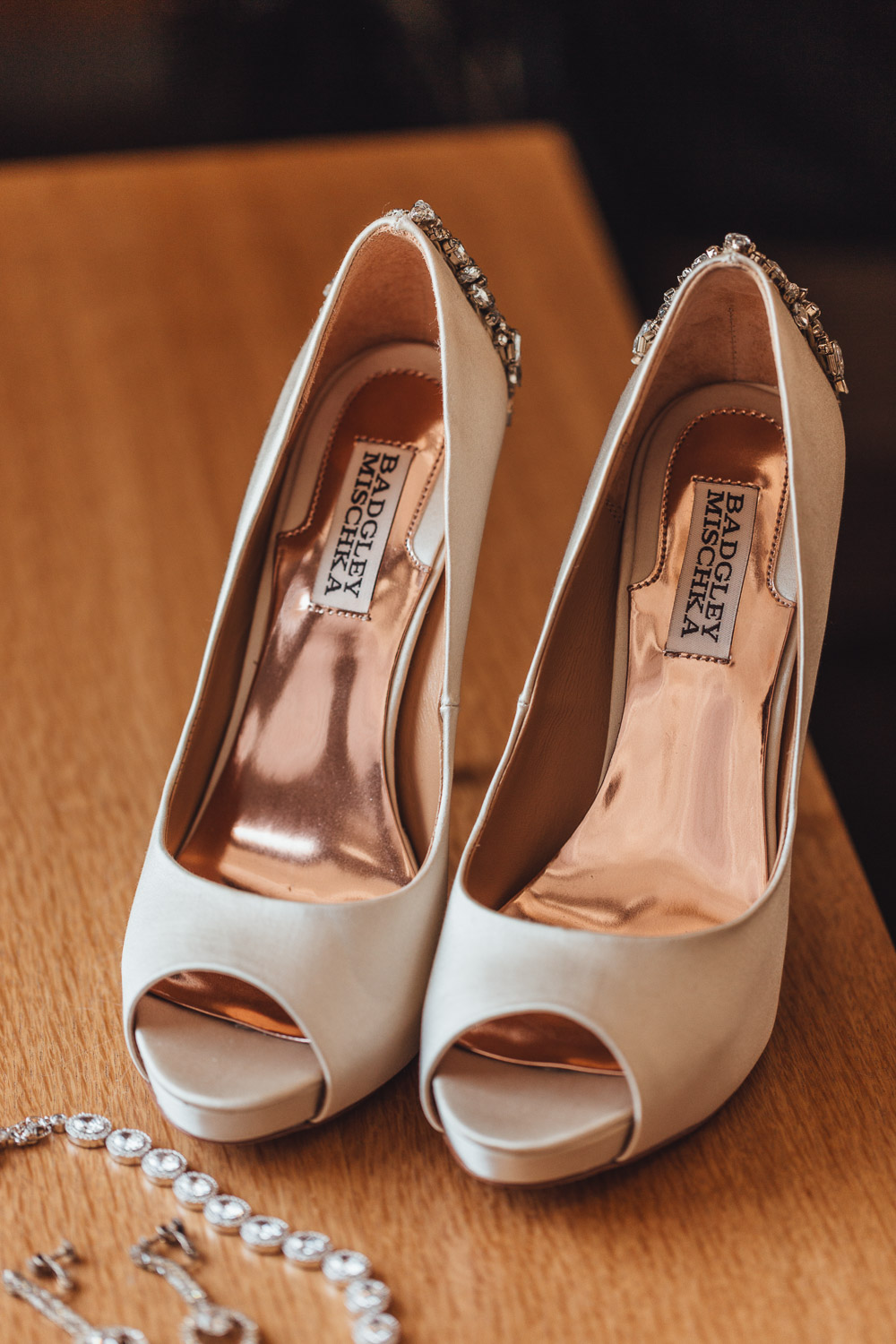 wedding shoes badgley mischka in richmond bc