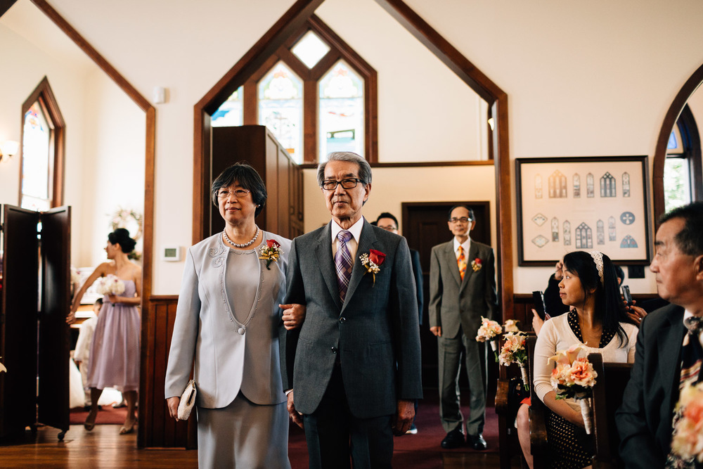 richmond wedding ceremony at minoru chapel