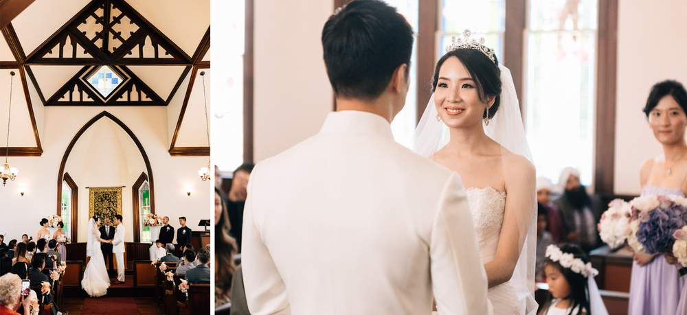 richmond wedding ceremony photography at minoru chapel