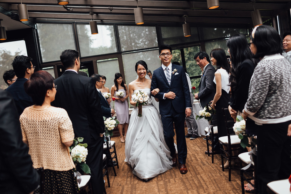 wedding at brockhouse restaurant in vancouver bc