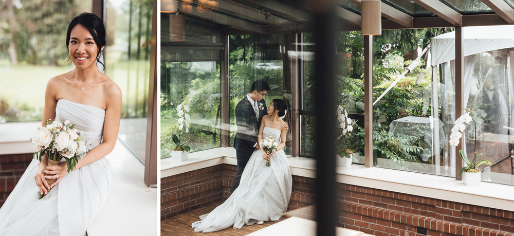 vancouver wedding photographer at brockhouse restaurant bc