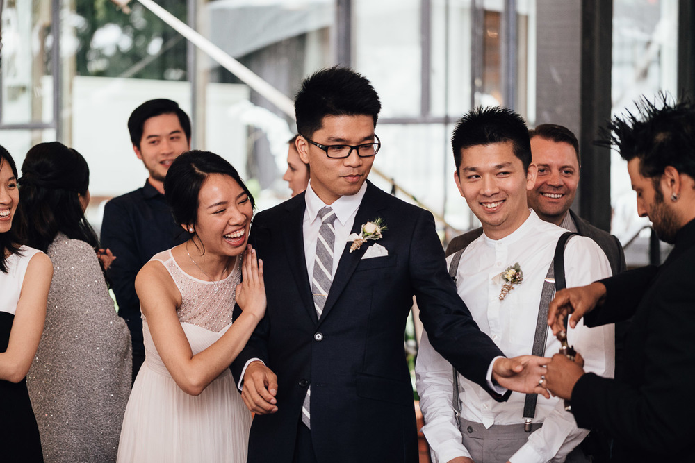 brockhouse restaurant groom and bride wedding in vancouver bc