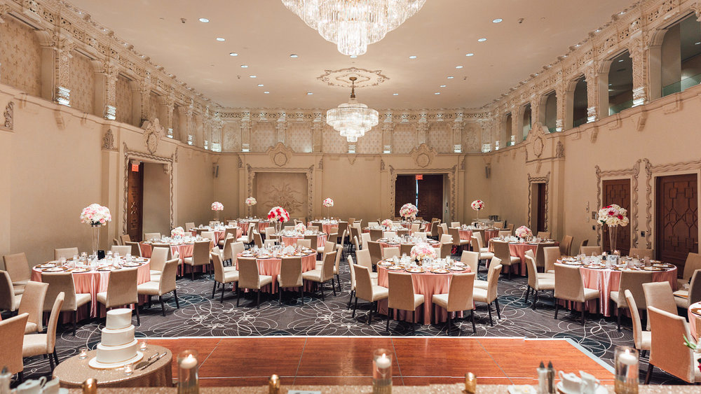 rosewood hotel georgia wedding ballroom decor vancouver bc