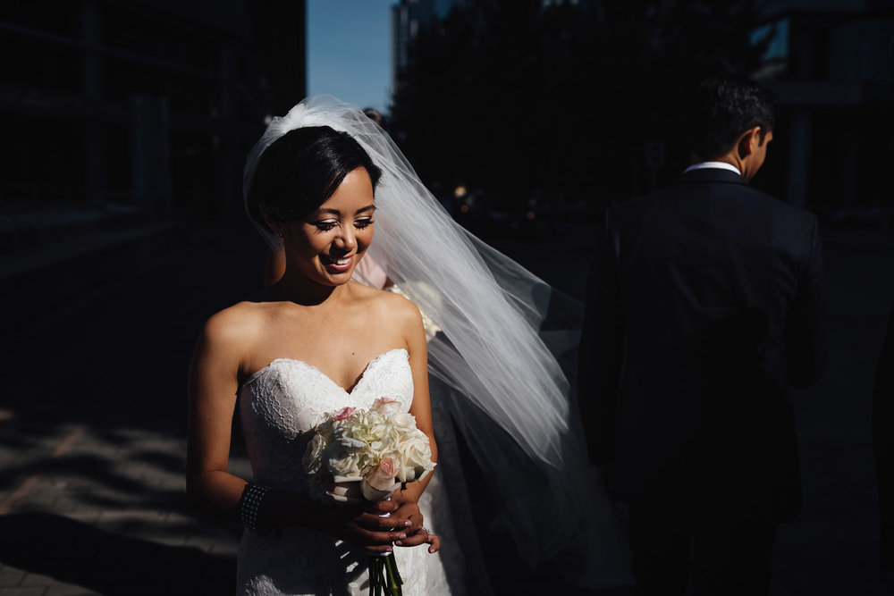 vancouver wedding photography downtown coal harbour summer vsco