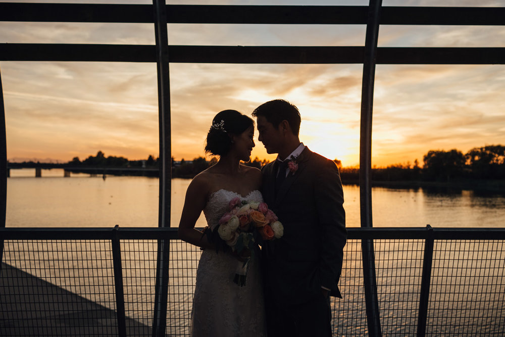 ubc boathouse wedding reception richmond bc photography sunset