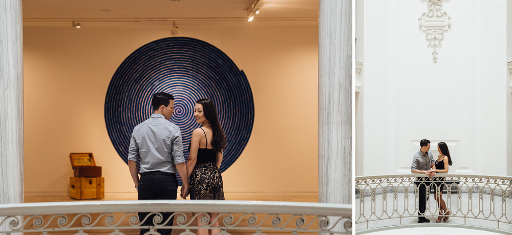 vancouver art gallery engagement wedding photography bc