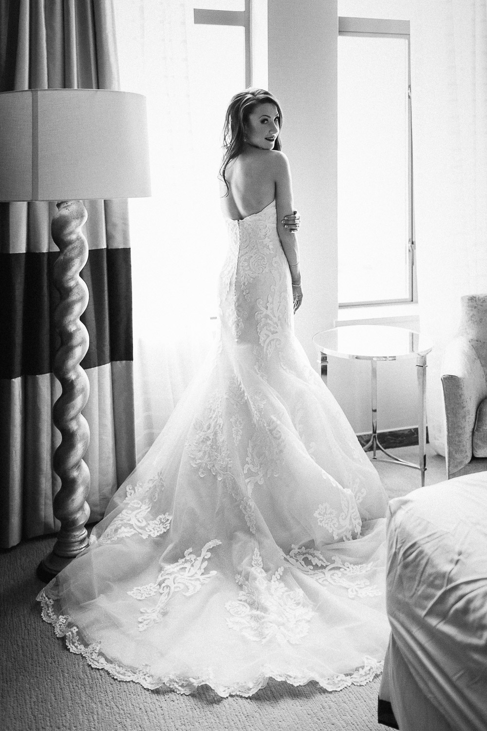 black and white vsco bride wedding dress burnaby wedding photography