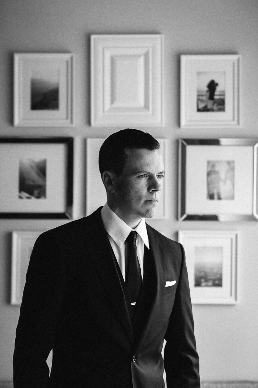 richmond wedding photography groom portrait