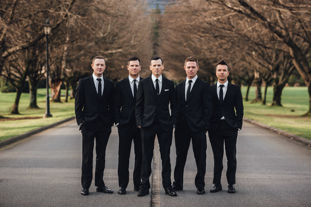 groom and groomsmen pitt meadows wedding photography at swaneset