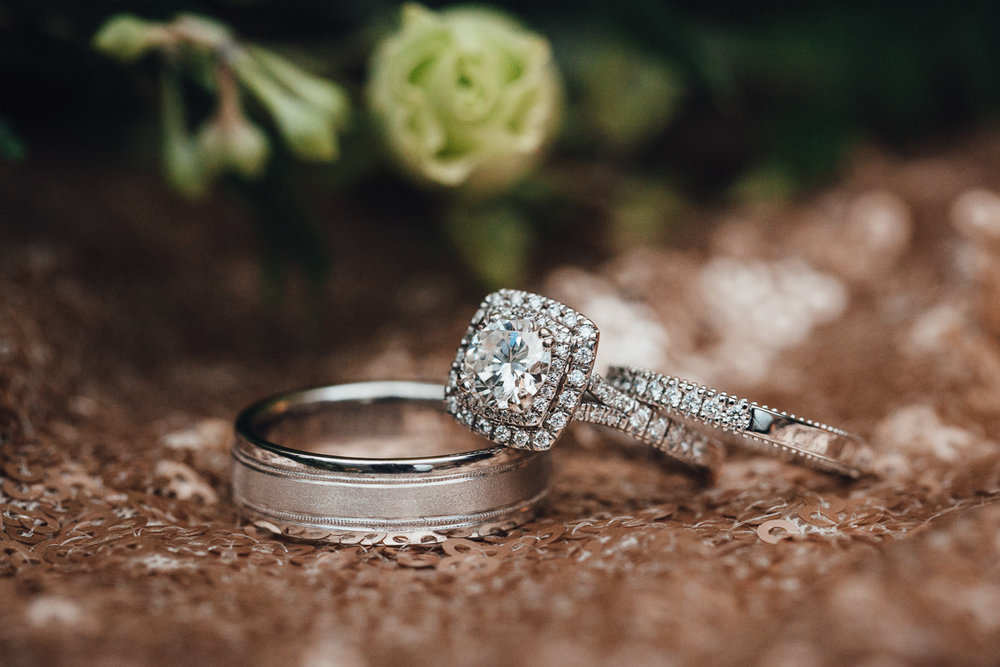 wedding rings and bands reception at swaneset photography in pitt meadows