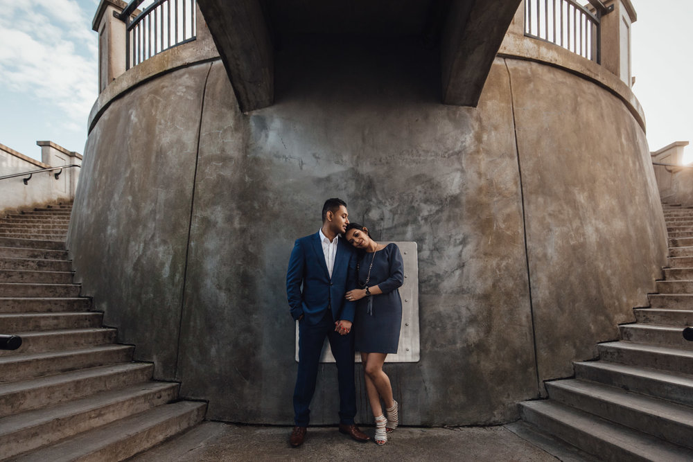 south east asian engagement photography vancouver bc stanley park