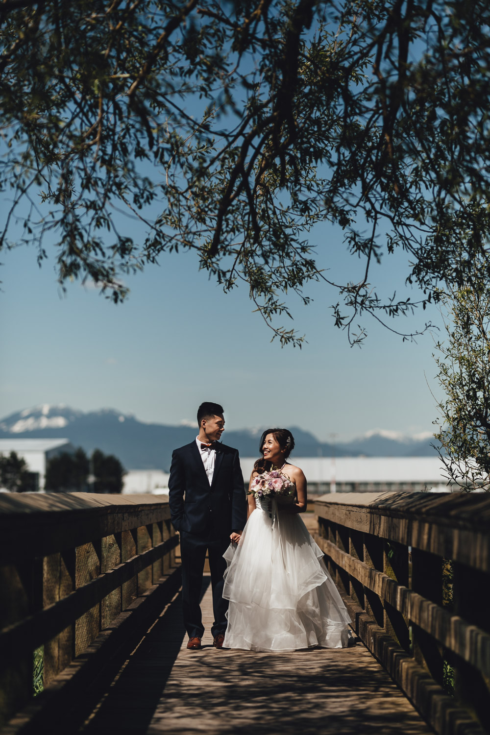 richmond wedding photographer terra nova park river road
