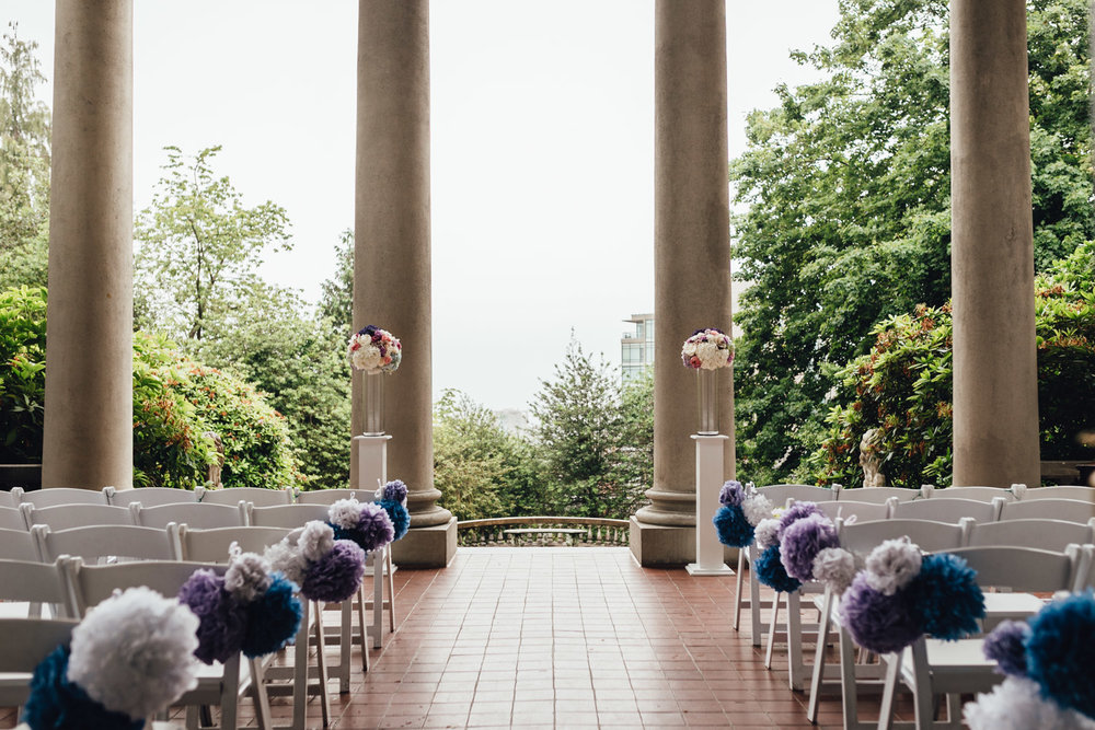 hycroft university women's club of vancouver ceremony photography