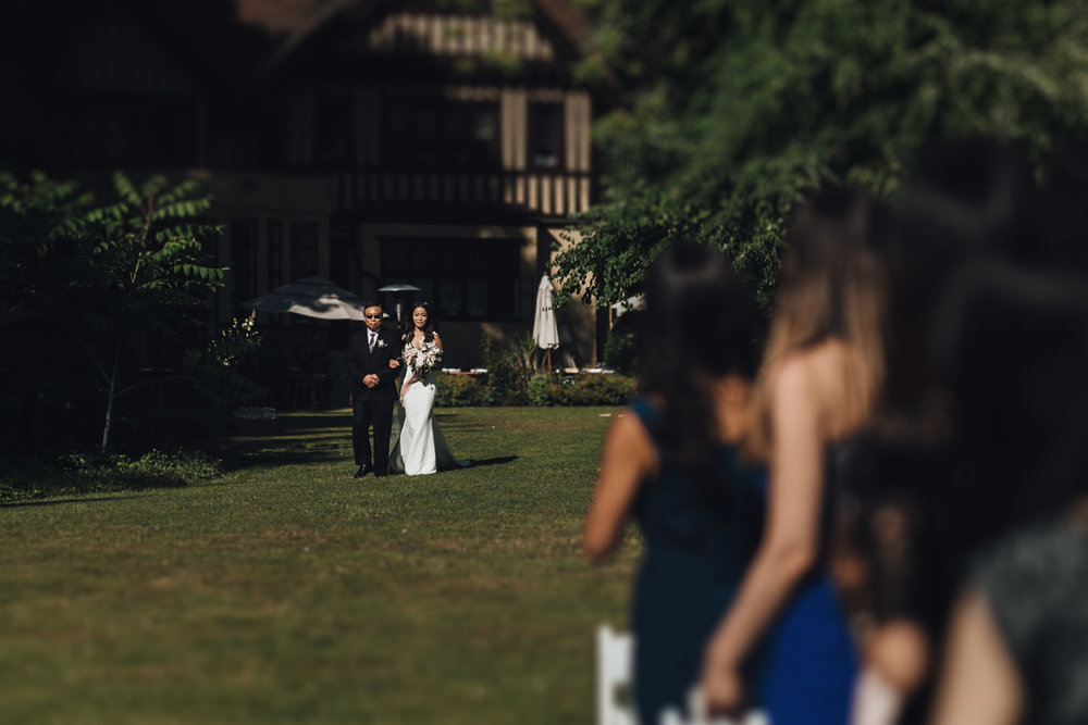 hart house restaurant wedding ceremony in vancouver bc