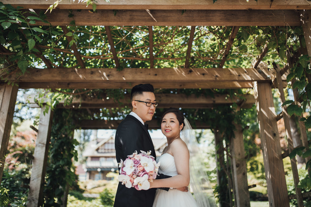 deer lake park burnaby wedding photography portraits