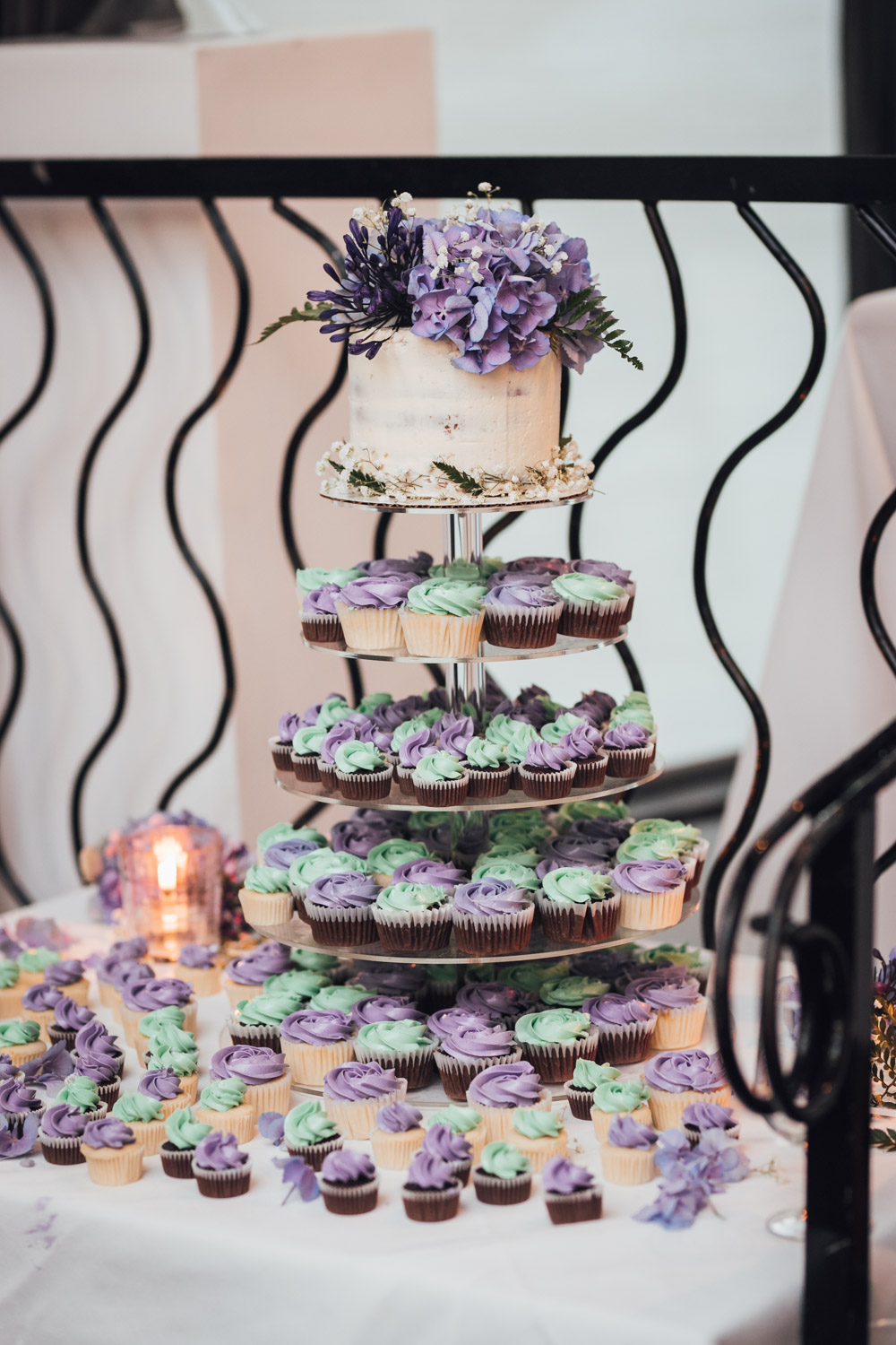 wedding cupcake brix & mortar restaurant wedding photography in yaletown vancouver bc