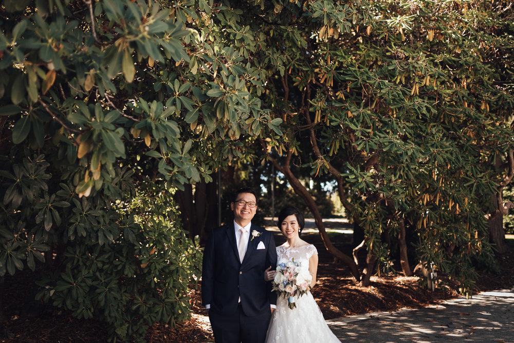 ubc vancouver wedding photography bride and groom