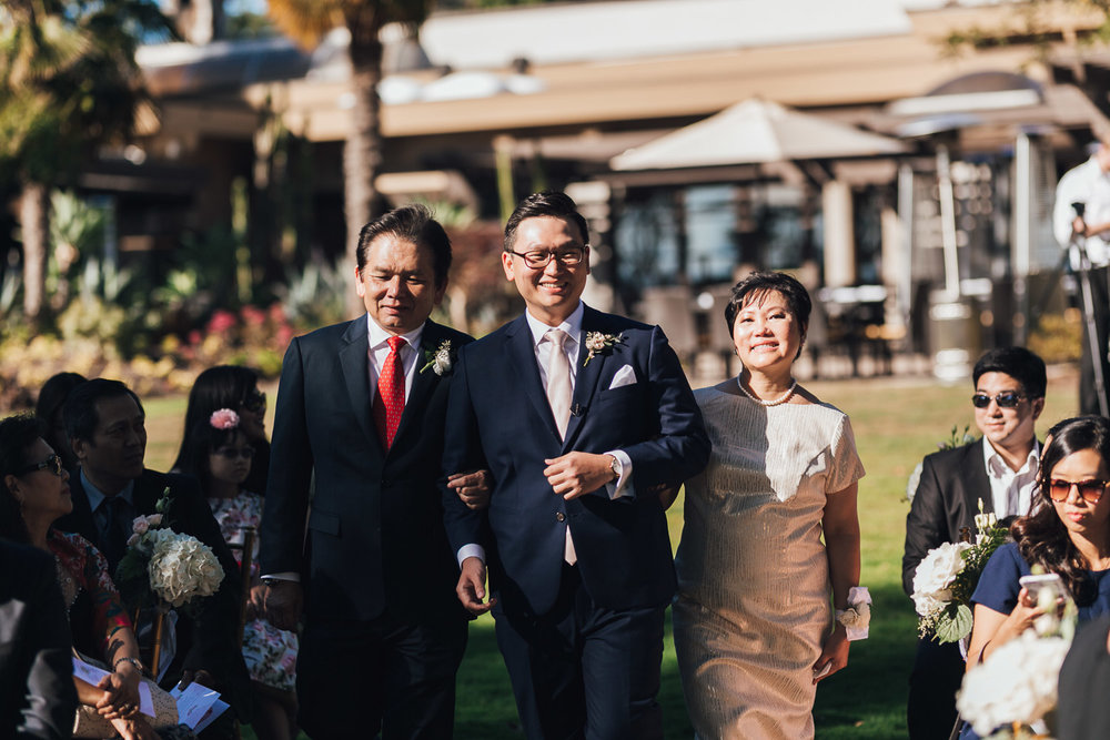 shaughnessy golf and country club wedding ceremony in vancouver bc